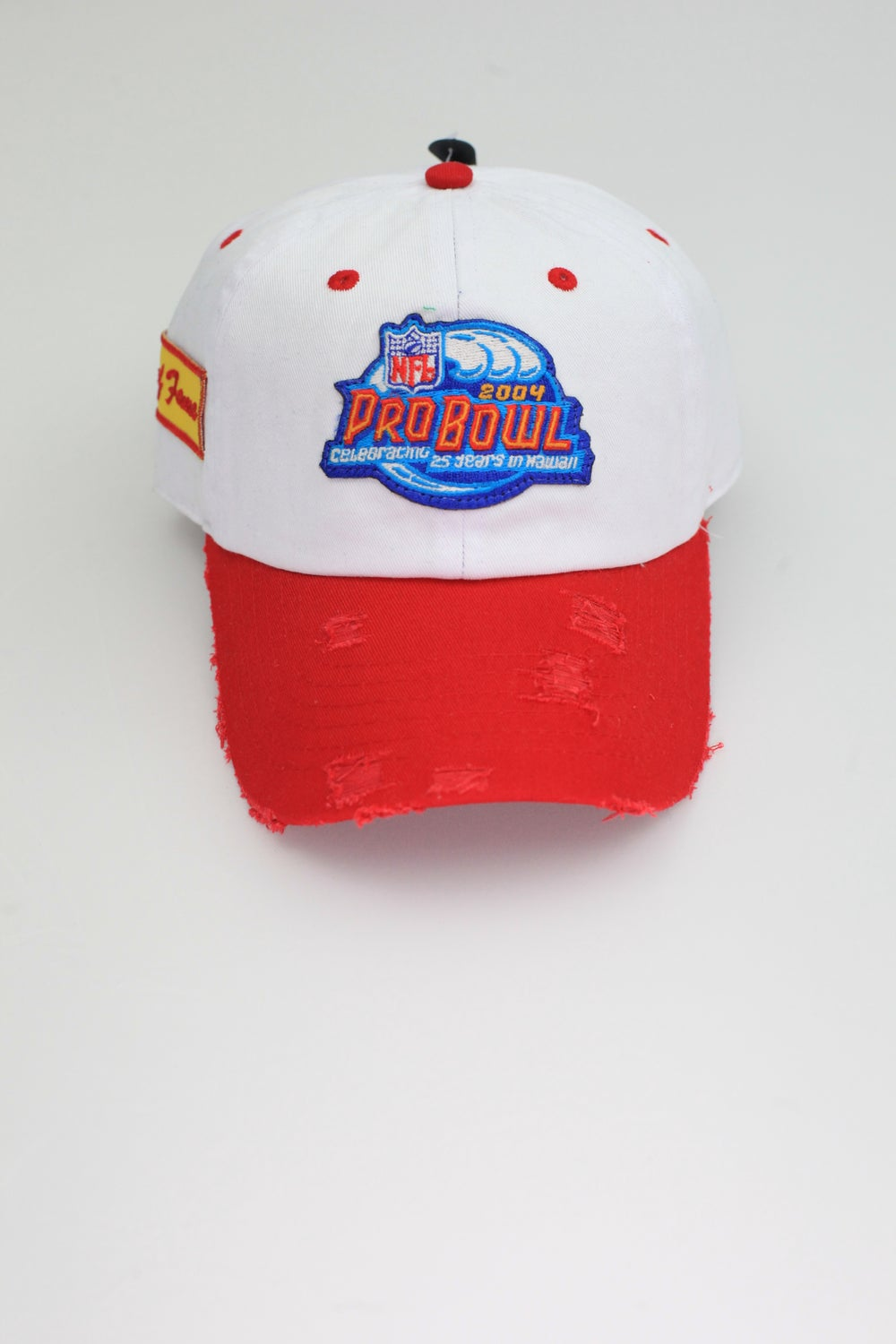 Image of Pro Bowl 2004 2-Tone Distressed Dad Hat