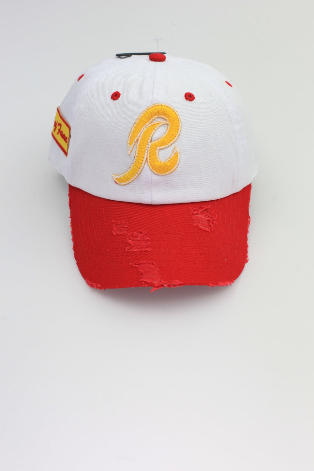 Image of Redskins 2-Tone Distressed Dad Hat