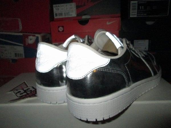 "Air Jordan I (1) Retro Low Pinnacle NS ""Metallic Silver"" - FAMPRICE.COM by 23PENNY"