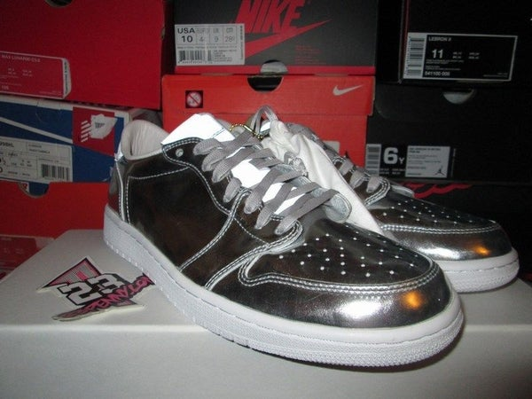"Air Jordan I (1) Retro Low Pinnacle NS ""Metallic Silver"" - FAMPRICE.COM by 23PENNY"