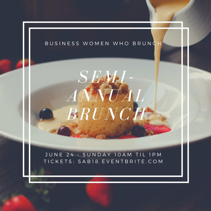 Image of SEMI ANNUAL BRUNCH TICKETS
