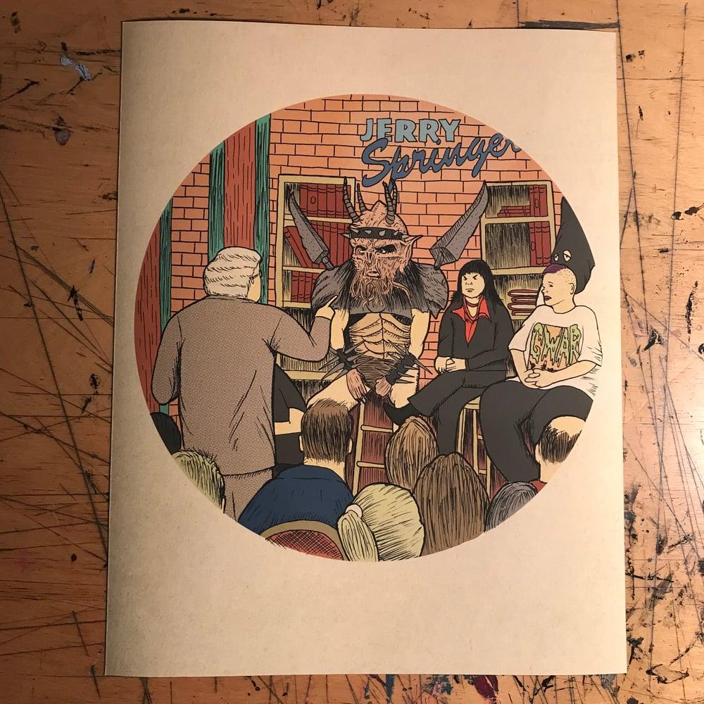 "Image of ""Shock Rock"" Print (11 x 14)"
