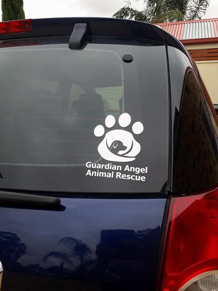 Image of Guardian Angel Animal Rescue Car Stickers