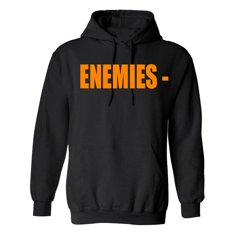 Image of Black & Orange Hoodie