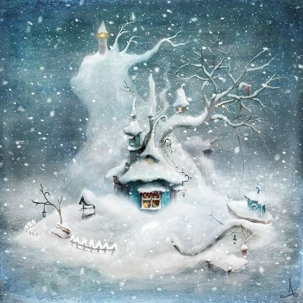 """Felicias Island"" (winter) - Alexander Jansson Shop"