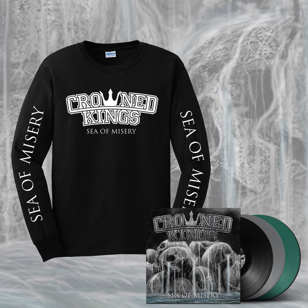 Image of Sea Of Misery Longsleeve & Vinyl