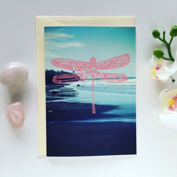 Image of Greeting Card *Dragonfly*