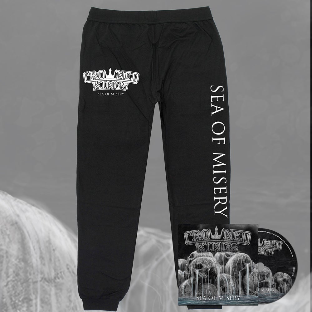 Image of Sea Of Misery Track Pants & CD Pack