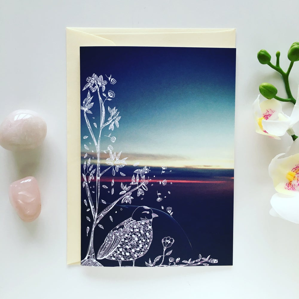 Image of Greeting Card *Bird*
