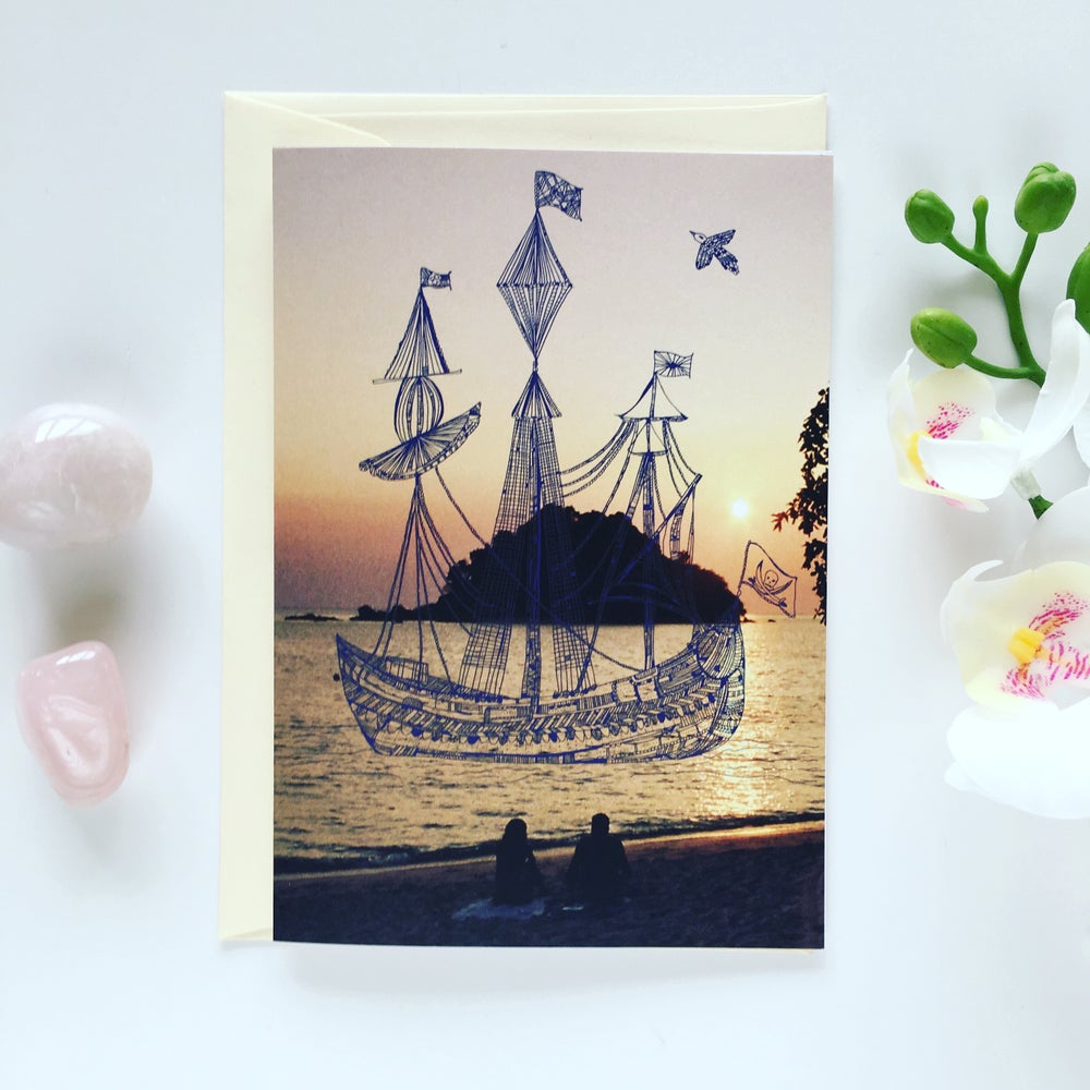 Image of Greeting Card *Boat*