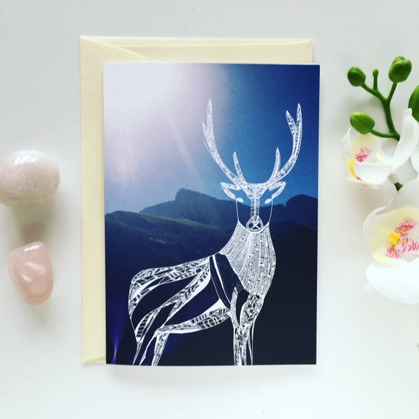 Image of Greeting card *Deer*