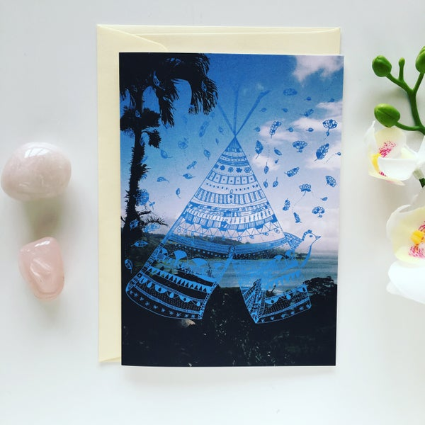 Image of Greeting Card *Tipi*