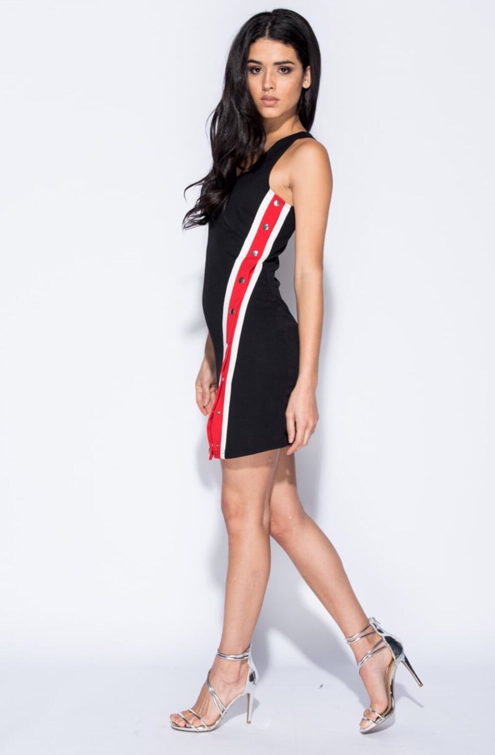 Image of Nova (popper bodycon) dress