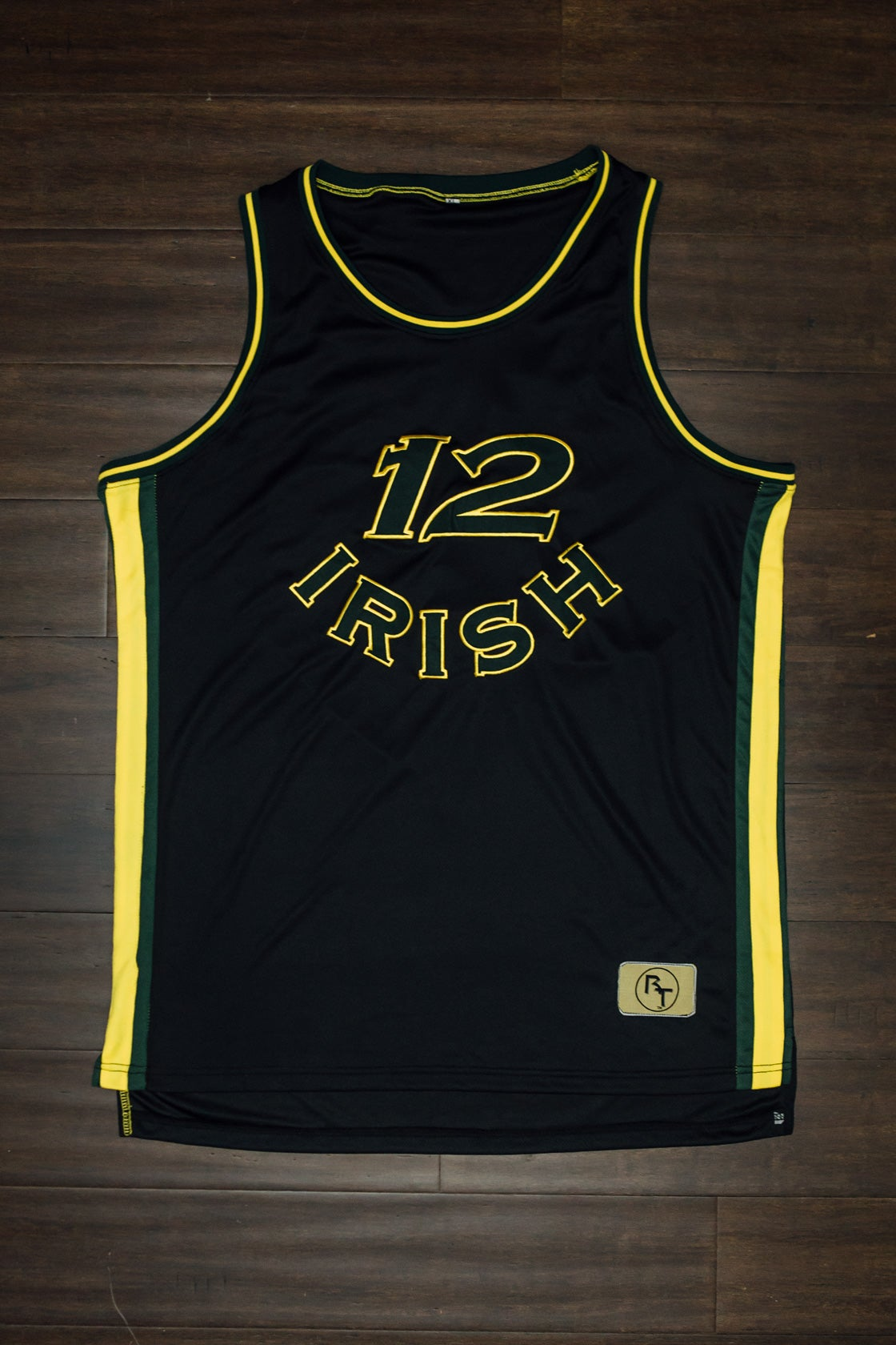 Image of Fab Five Irish jersey remastered!