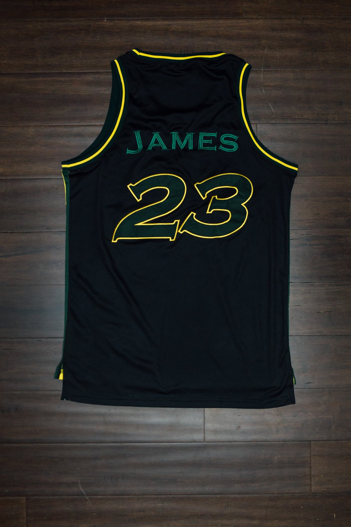 Image of Fab Five Irish jersey remastered!!