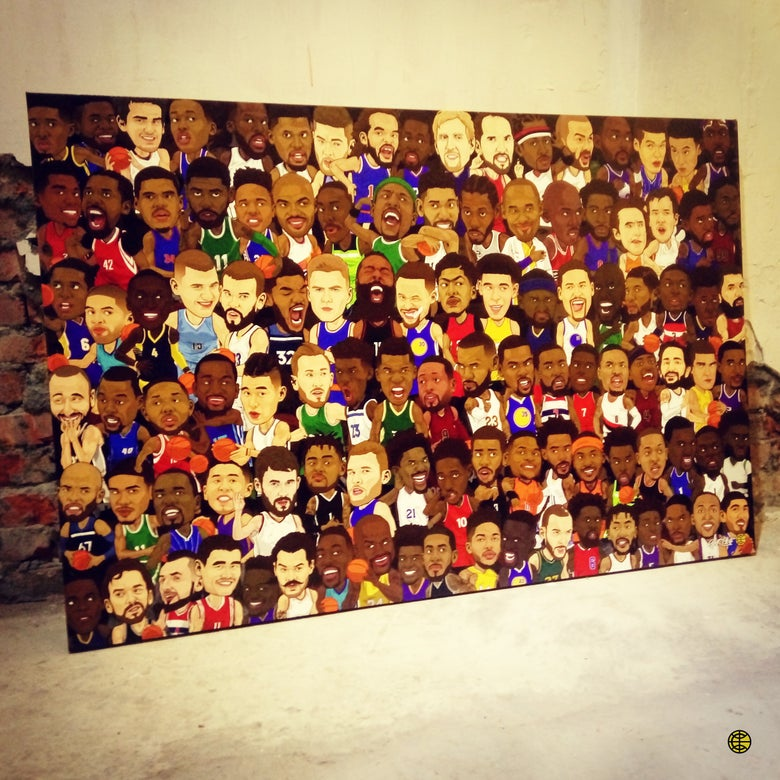 "Image of ""EVERYBODY"" CANVAS"