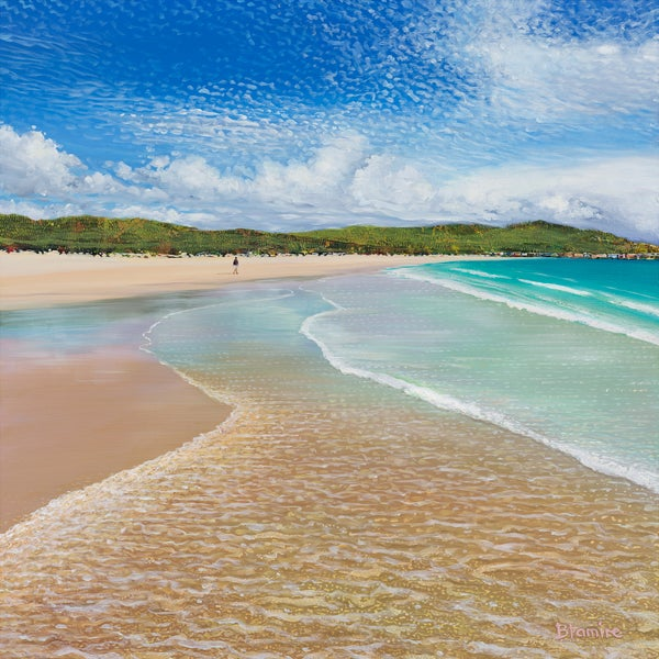 Image of Feall bay, Coll LARGE giclée print