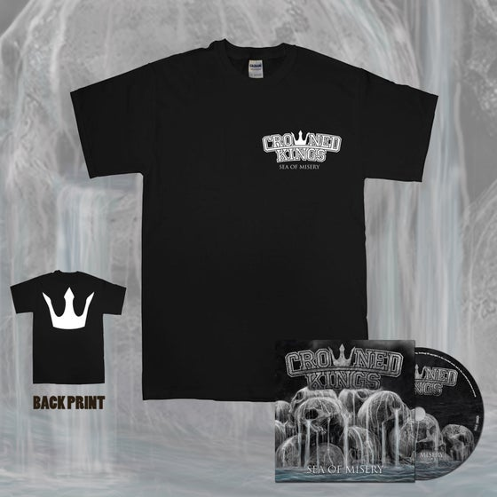 Image of Crown Shirt & CD Pack