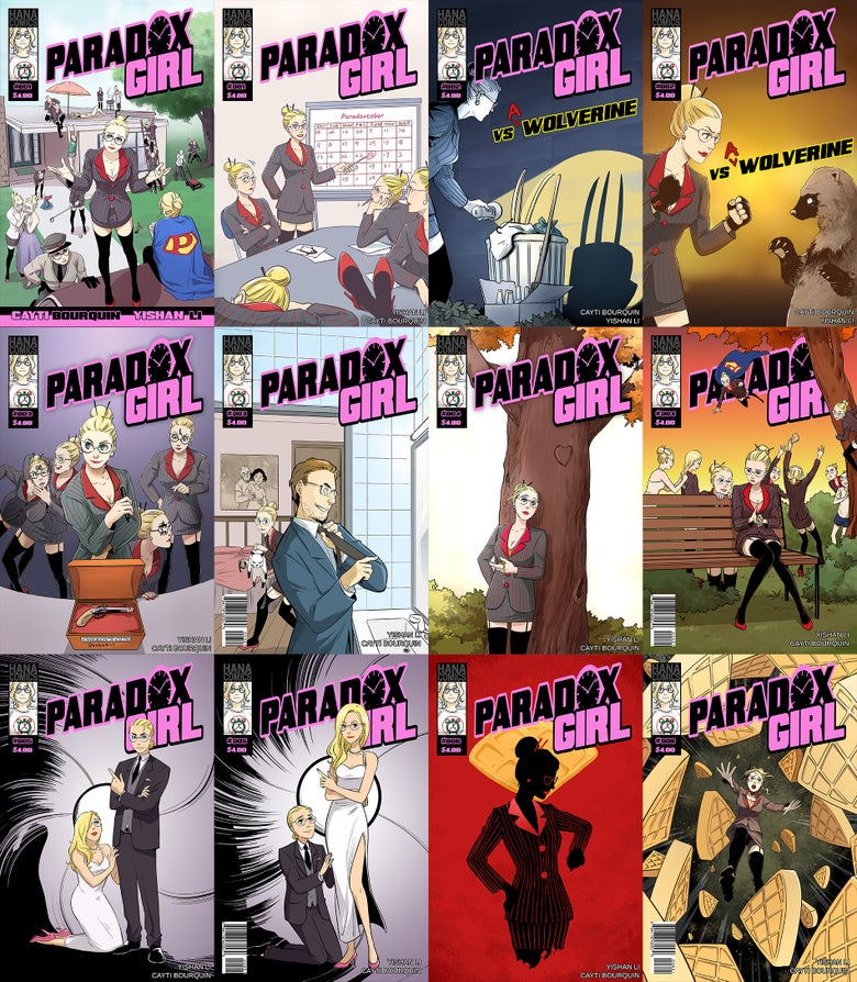 Image of Paradox Girl Single Issues
