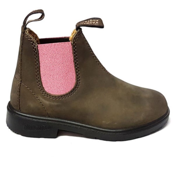 Image of Blundstone botas rustic brown pale pink