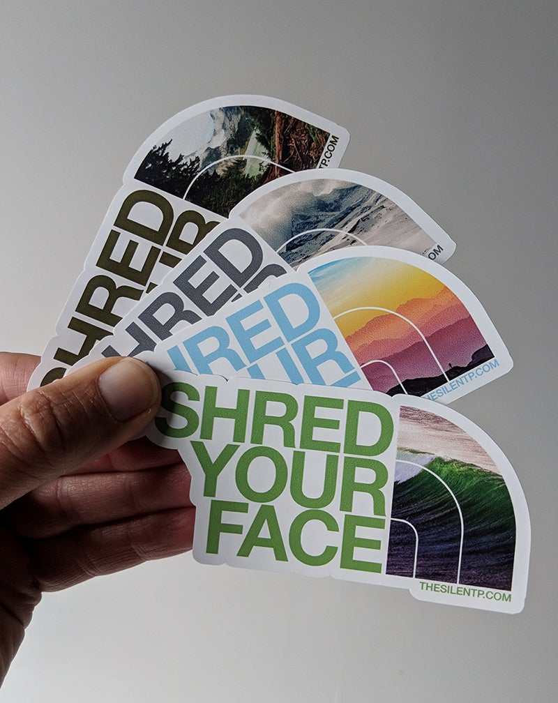Shred Your Face (all 4)