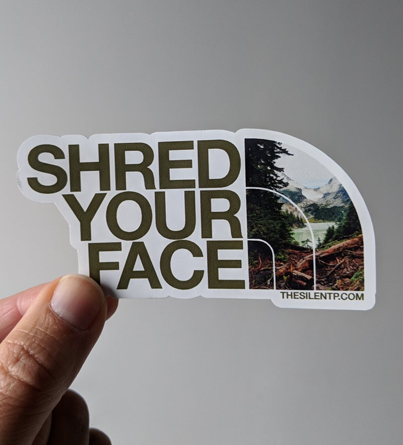Shred Your Face (brown)