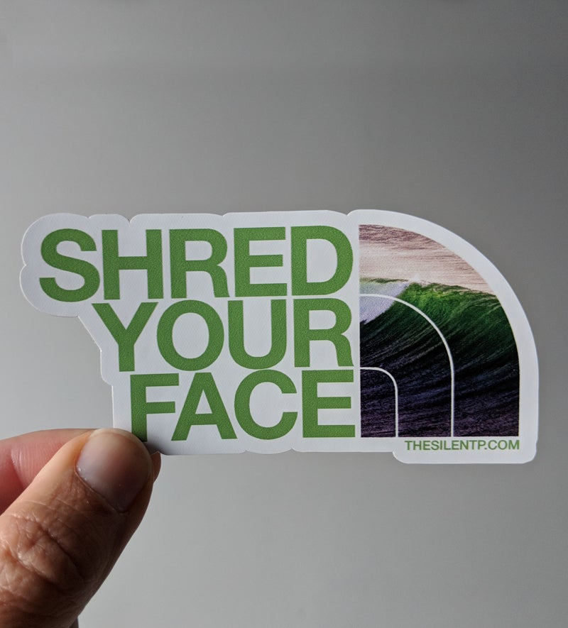 Shred Your Face (green)