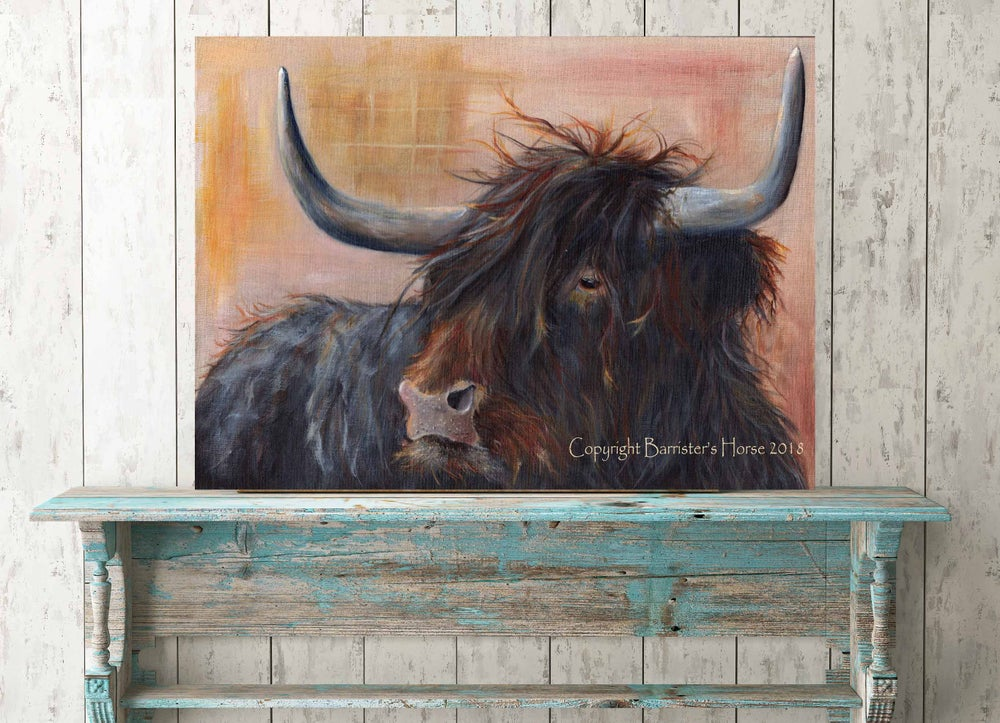 Image of HIGHLAND BULL, FINE ART PRINTS