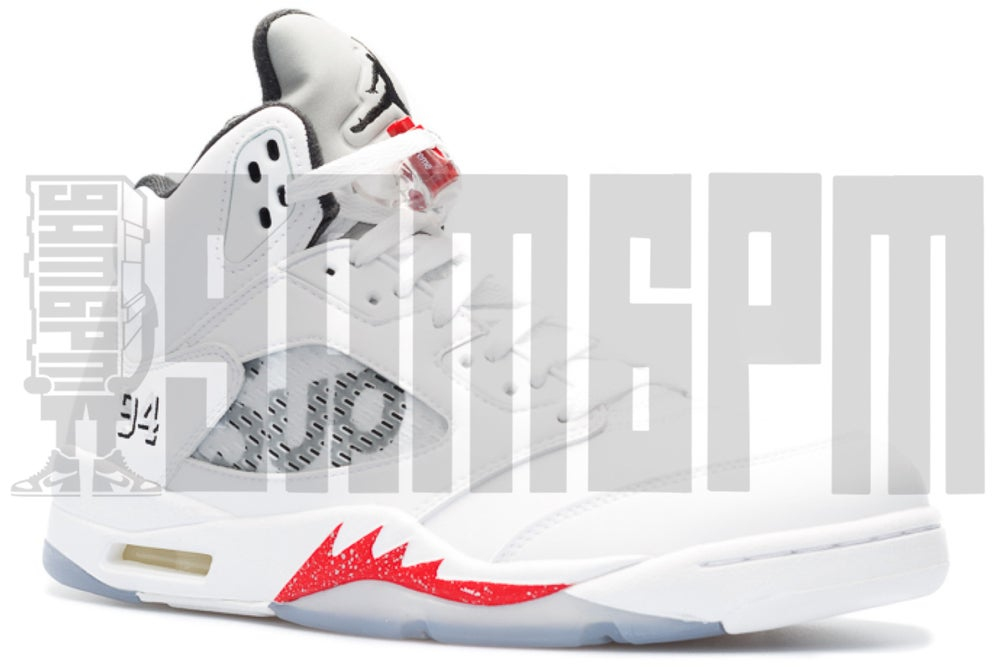 wholesale dealer d0aa3 58606 NIKE AIR JORDAN 5 RETRO SUPREME