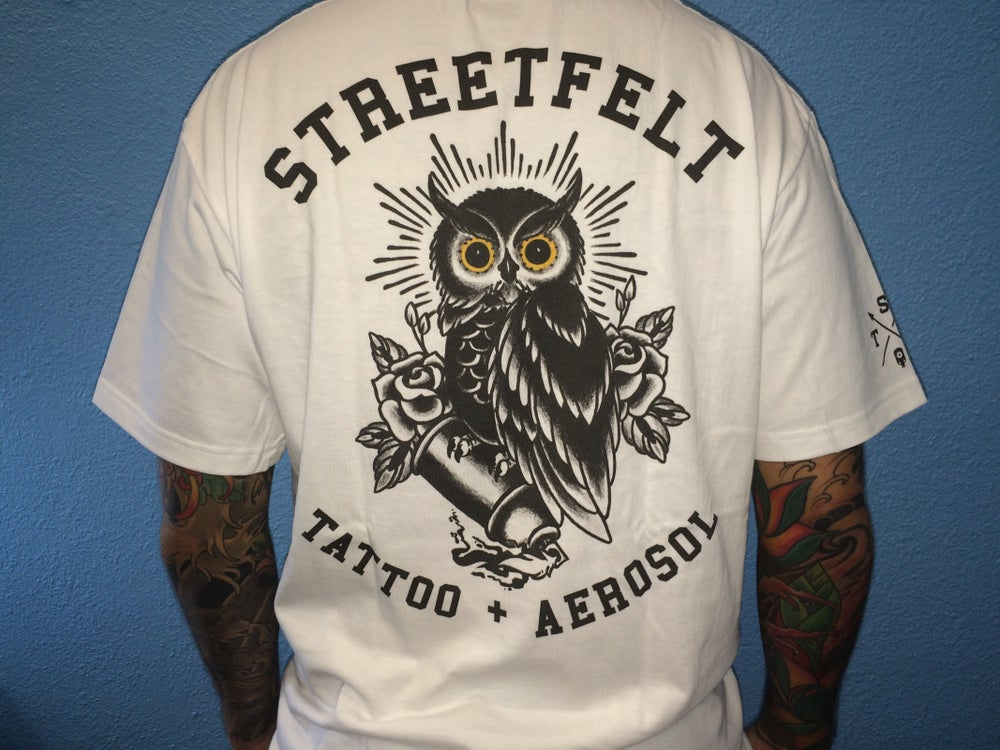 Image of Streetfelt Hawaii 'The Owl' Tee