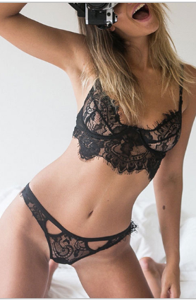 Image of Sweet Lace Panty Set