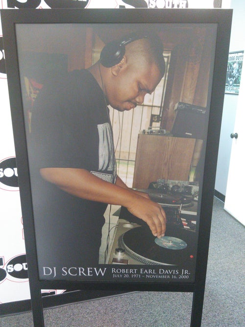 Image of Dj Screw  Poster. 18x24