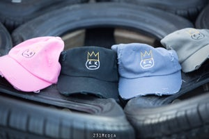 "Image of unkutDOPE ""OG Logo"" Distressed Dad Hat"