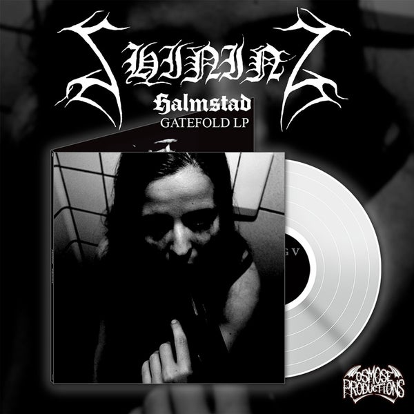 "Image of PREORDER Shining ""V - Halmstad"" bundle white vinyl plus digipak CD"
