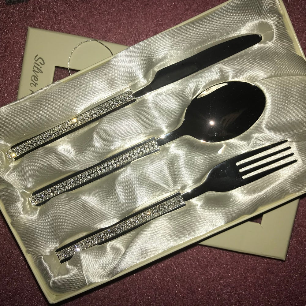 Image of Bling Chilldren's Cutlery Set
