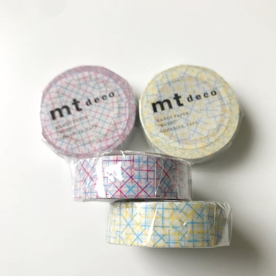 Image of MT Deco Check Collage Masking Tape