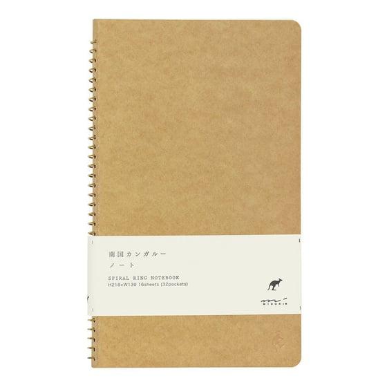 Image of Midori A5 Kangaroo Spiral Notebook