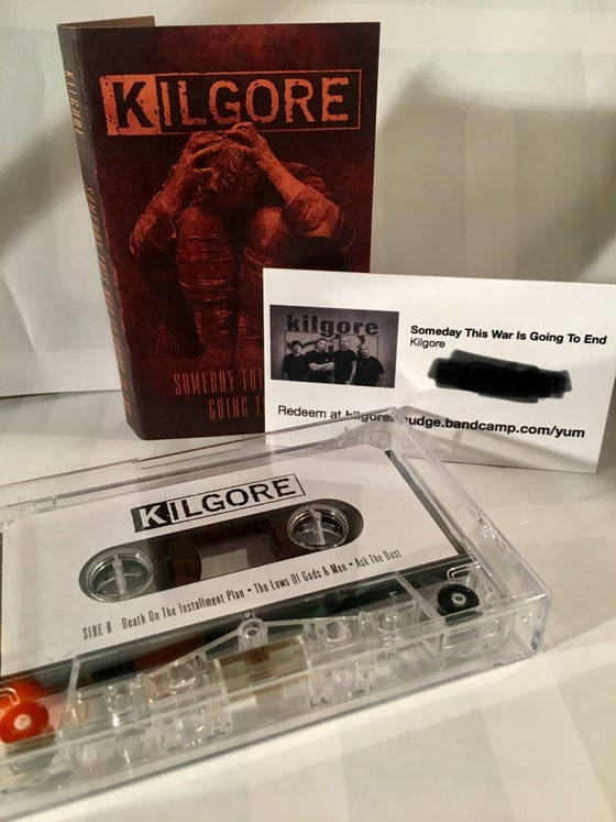 Image of Someday This War Is Going To End: Cassette and DD