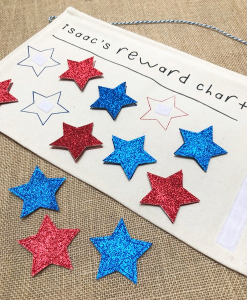 Image of Personalised children's star reward chart