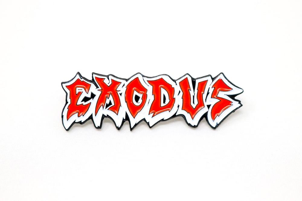 Exodus Logo Enamel Pin