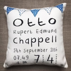 Image of Personalised 'mini' cushion
