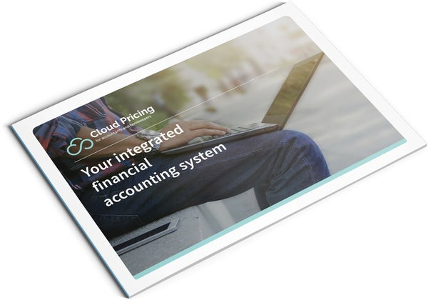 Image of Integrated Financial Accounting System Brochure Design