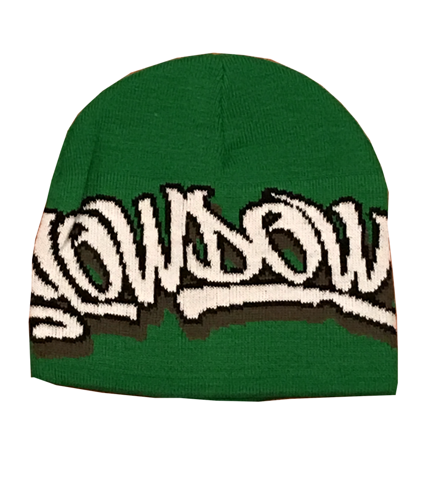 Image of Winter Logo Beanie Celtics Colorway