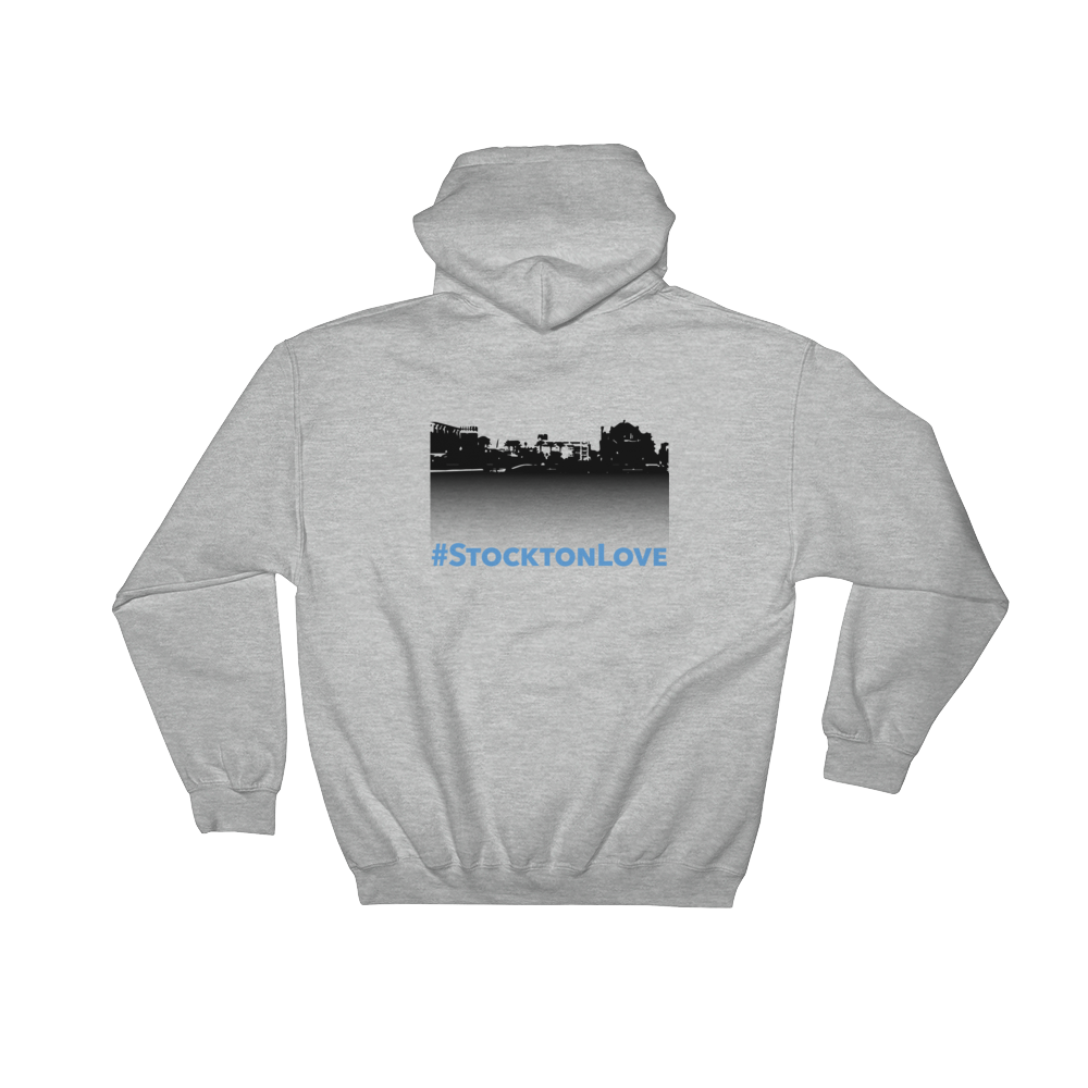 Image of EXT- #StocktonLove Hoodie (Extended Sizes)