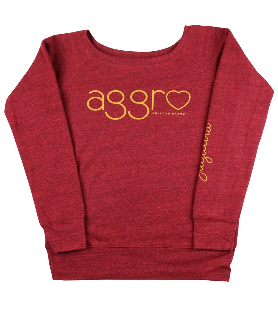 "Image of AGGRO Brand ""Jiujiteira"" Sweatshirt (Ladies')"