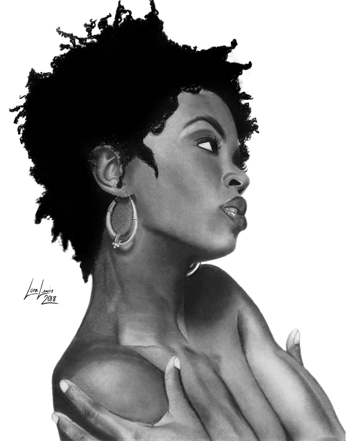 Image of Lauryn Hill (print)
