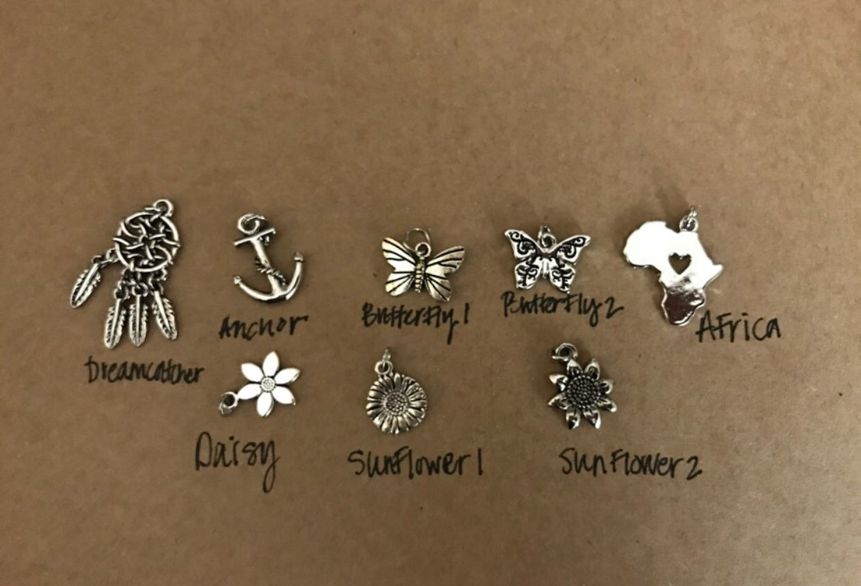 Image of Silver or gold Necklace (charm options)