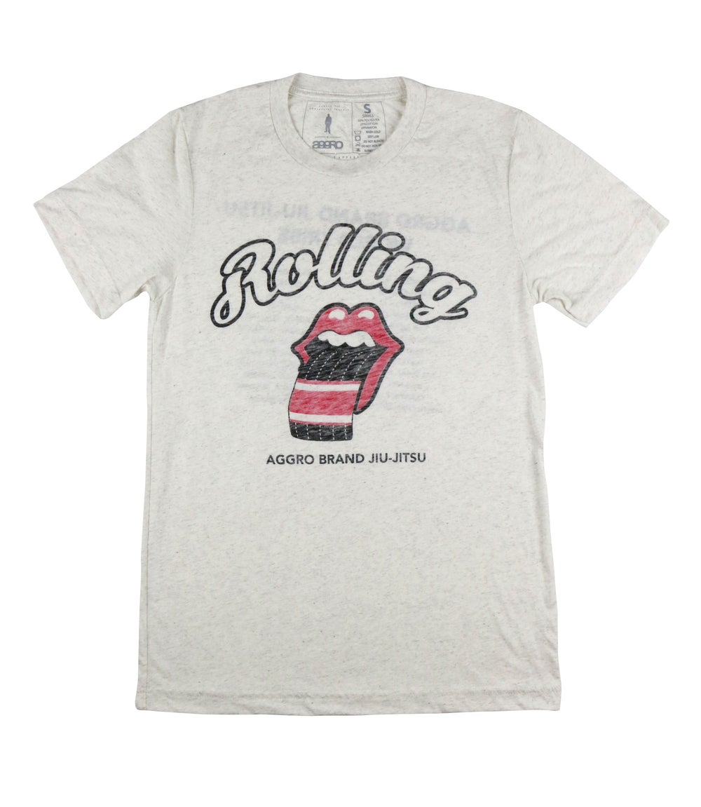 """Image of AGGRO Brand """"Rolling"""" Tri-blend Shirt"""
