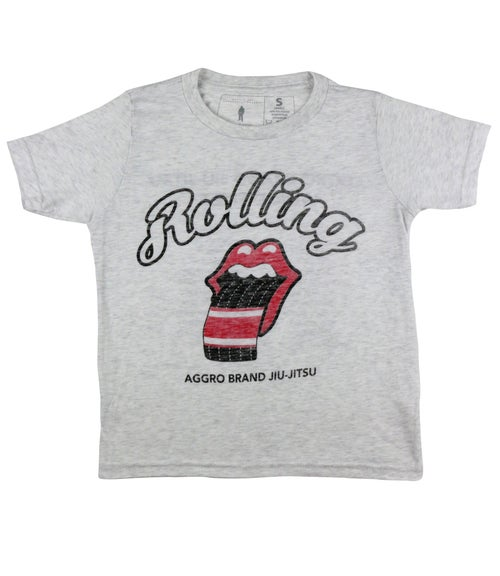 "Image of AGGRO Brand ""Rolling"" Tri-blend Shirt (Adult & Youth)"