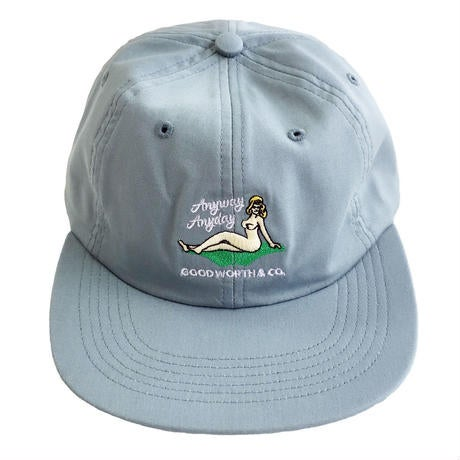 Image of GOOD WORTH & C0. - ANYWAY STRAPBACK (MIST GREEN)